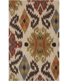 RugStudio presents Surya Matmi Mat-5436 Parchment Hand-Tufted, Good Quality Area Rug