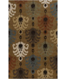 RugStudio presents Surya Matmi MAT-5449 Dark Khaki Hand-Tufted, Good Quality Area Rug