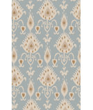 RugStudio presents Surya Matmi MAT-5457 Foggy Blue Hand-Tufted, Good Quality Area Rug