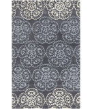 RugStudio presents Rugstudio Sample Sale 88576R Flint Gray Hand-Tufted, Best Quality Area Rug