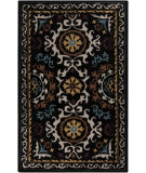 RugStudio presents Surya Mamba MBA-9025 Coal Black Hand-Tufted, Best Quality Area Rug