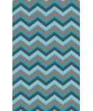 RugStudio presents Surya Mamba MBA-9034 Neutral / Blue / Green Area Rug