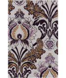 RugStudio presents Surya Mamba MBA-9035 Green / Neutral / Violet (purple) Area Rug