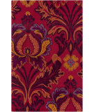 RugStudio presents Surya Mamba MBA-9037 Neutral / Orange / Pink / Violet (purple) Area Rug