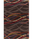 RugStudio presents Surya Mamba MBA-9043 Neutral / Red / Orange / Violet (purple) / Blue Area Rug