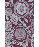 RugStudio presents Surya Mamba MBA-9047 Violet (purple) / Neutral Area Rug