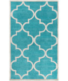 RugStudio presents Surya Mamba Mba-9068 Teal Hand-Tufted, Good Quality Area Rug