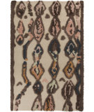 RugStudio presents Surya Midelt MDT-1002 Neutral / Orange / Blue / Green Area Rug