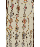 RugStudio presents Surya Midelt MDT-1008 Neutral / Red / Blue Area Rug
