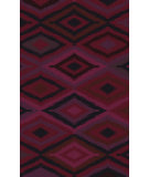 RugStudio presents Surya Mesa MES-9002 Red / Violet (purple) Hand-Knotted, Good Quality Area Rug