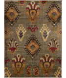 RugStudio presents Surya Midtown MID-7759 Dark Olive Green Machine Woven, Good Quality Area Rug