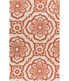 RugStudio presents Surya Marseille MRS-2001 Neutral / Red Woven Area Rug