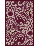 RugStudio presents Surya Marseille MRS-2004 Neutral / Red / Violet (purple) Area Rug