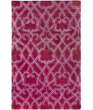 RugStudio presents Surya Mount Perry Mtp-1012 Magenta Hand-Tufted, Good Quality Area Rug