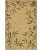 RugStudio presents Surya Mugal IN-8003 Tan Cocoa Hand-Knotted, Good Quality Area Rug