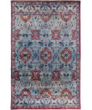 RugStudio presents Surya Mykonos MYK-5001 Sky Blue Hand-Tufted, Good Quality Area Rug