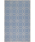 RugStudio presents Surya Mezzo MZO-6002 Steel Blue Hand-Hooked Area Rug