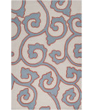 RugStudio presents Surya Mezzo MZO-6003 Soft Blue Hand-Hooked Area Rug