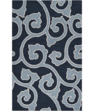 RugStudio presents Surya Mezzo MZO-6005 Midnight Blue Hand-Hooked Area Rug