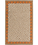 RugStudio presents Surya Nantes Nan-8002 Burnt Orange Woven Area Rug