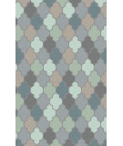 RugStudio presents Surya Nia NIA-7001 Blue / Green / Neutral Area Rug