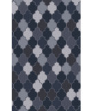 RugStudio presents Surya Nia NIA-7004 Gray / Navy Woven Area Rug
