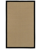 RugStudio presents Surya Natural Living Soho Black Sisal/Seagrass/Jute Area Rug