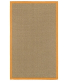 RugStudio presents Surya Natural Living Soho Orange Sisal/Seagrass/Jute Area Rug
