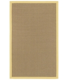 RugStudio presents Surya Natural Living Soho Yellow Sisal/Seagrass/Jute Area Rug