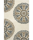 RugStudio presents Rugstudio Sample Sale 61530R Ivory Hand-Tufted, Good Quality Area Rug