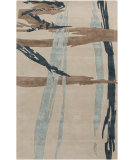 RugStudio presents Surya Naya NY-5235 Neutral / Blue / Green Hand-Tufted, Good Quality Area Rug
