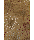 RugStudio presents Surya Naya NY-5258 Neutral / Red / Green Area Rug