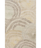 RugStudio presents Surya Naya NY-5259 Neutral / Yellow / Blue / Green Hand-Tufted, Good Quality Area Rug