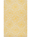 RugStudio presents Rugstudio Sample Sale 73440R Golden Raisin Hand-Tufted, Good Quality Area Rug