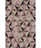 RugStudio presents Surya Oasis OAS-1096 Neutral / Violet (purple) Hand-Tufted, Good Quality Area Rug
