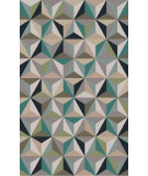 RugStudio presents Surya Oasis OAS-1097 Neutral / Violet (purple) / Blue / Green Area Rug