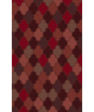 RugStudio presents Surya Oasis OAS-1101 Burgundy Hand-Tufted, Good Quality Area Rug