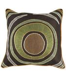 RugStudio presents Surya Pillows P-0182 Chocolate/Orange
