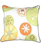 RugStudio presents Surya Pillows P-0198 Sunflower