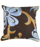 RugStudio presents Surya Pillows P-0201 Chocolate
