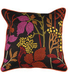 RugStudio presents Surya Pillows P-0216 Black/Multi