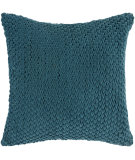 RugStudio presents Surya Pillows P-0275 Teal Woven