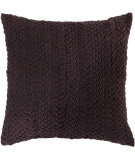 RugStudio presents Surya Pillows P-0277 Eggplant Woven