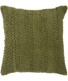 RugStudio presents Surya Pillows P-0278 Green Woven