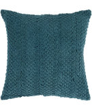 RugStudio presents Surya Pillows P-0279 Teal Blue