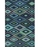 RugStudio presents Surya Paria PAI-6001 Green / Blue Hand-Tufted, Good Quality Area Rug