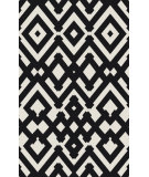 RugStudio presents Surya Paddington Pdg-2043 Charcoal Flat-Woven Area Rug