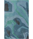 RugStudio presents Surya Pigments PGM-3000 Green / Blue Hand-Tufted, Best Quality Area Rug