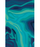RugStudio presents Surya Pigments PGM-3003 Teal Hand-Tufted, Best Quality Area Rug