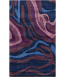 RugStudio presents Surya Pigments PGM-3007 Violet (purple) / Blue Hand-Tufted, Best Quality Area Rug